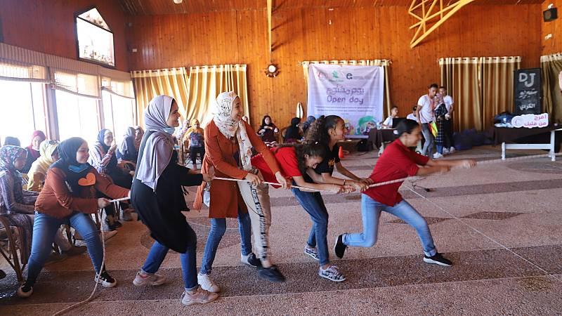 Reportajes 5 Continentes - Las luchas de las mujeres para derribar muros en Gaza - Escuchar ahora