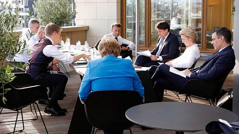 14 horas - Italia, Portugal y Grecia constituyen grupos de expertos para fiscalizar los fondos europeos - Escuchar ahora
