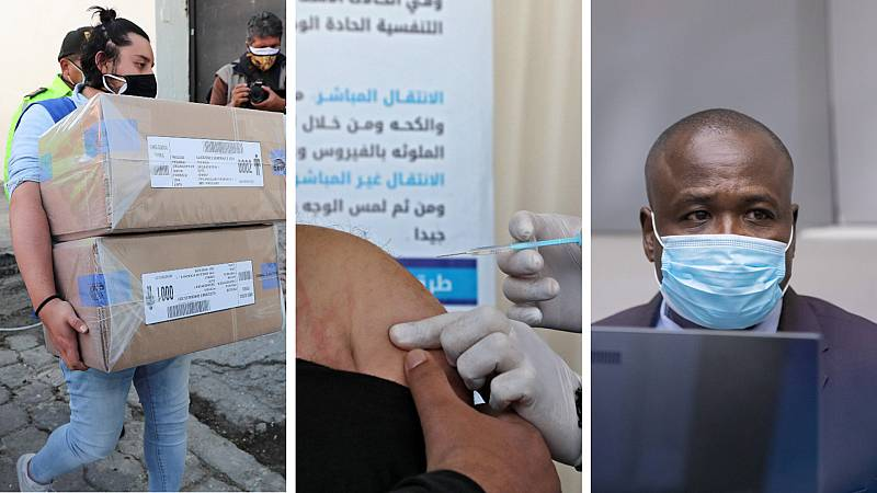 Cinco continentes - Vacunas para Palestina - Escuchar ahora