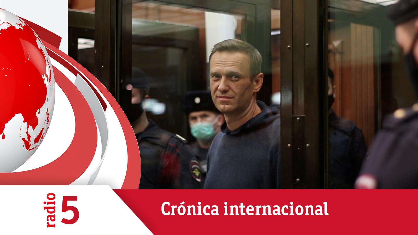 Crónica Internacional - Navalni se enfrenta a un nuevo juicio - Escuchar ahora