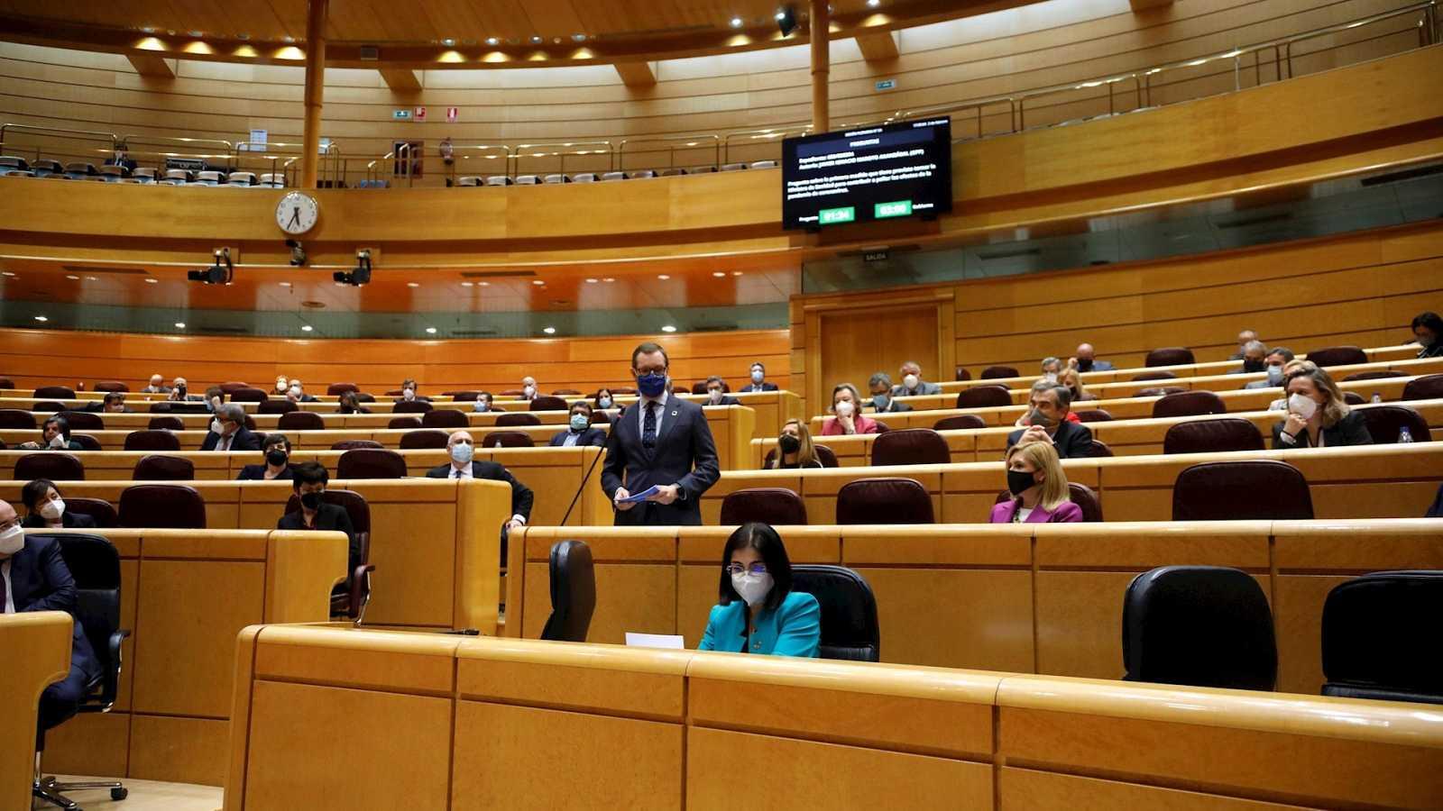 Parlamento - Radio 5 - ¿Cómo ha cambiado el teletrabajo la vida en el Senado? - Escuchar ahora