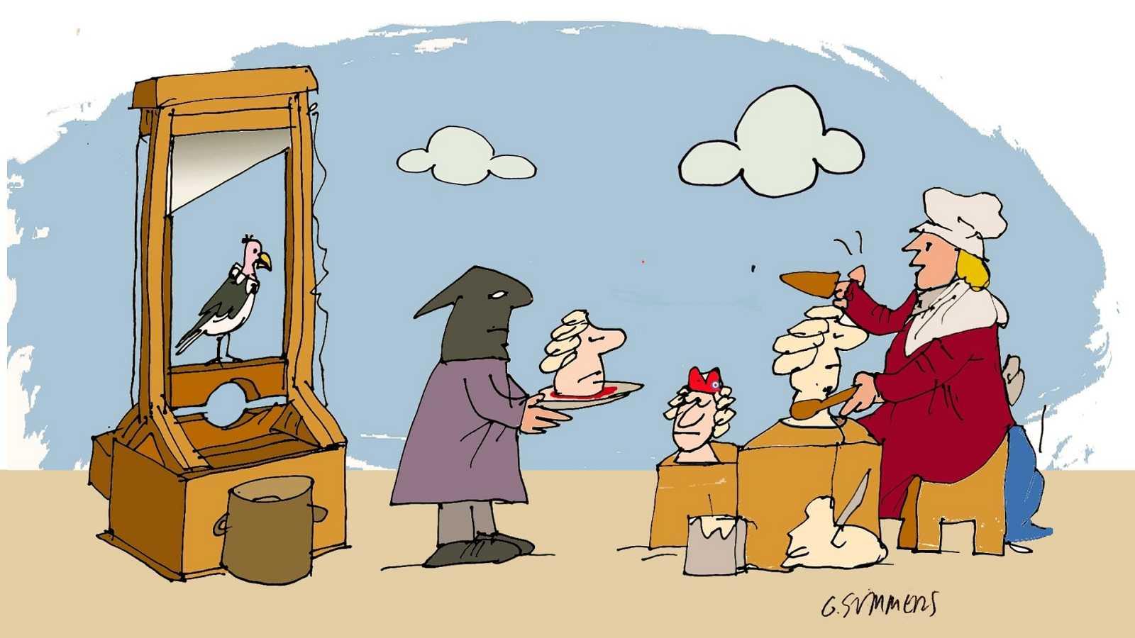 ¡Pero qué invento es esto! - La guillotina y Madame Tussaud - Escuchar ahora