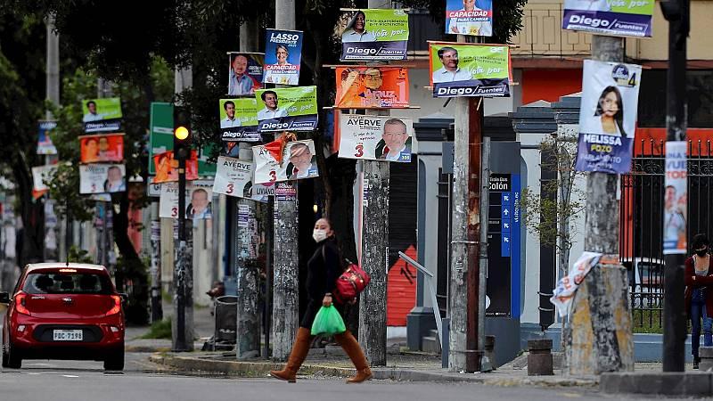España a las 8 Fin de Semana - Ecuador celebra elecciones para elegir el relevo de Lenín Moreno - Escuchar ahora