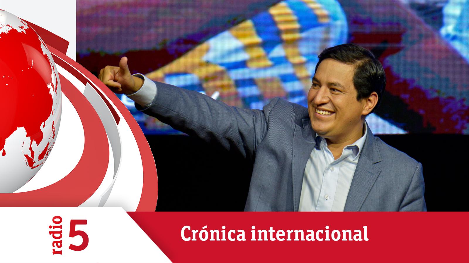 Crónica Internacional - El correísta Arauz gana en la primera vuelta en Ecuador - Escuchar ahora