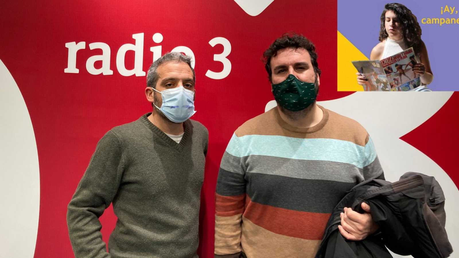 Hoy empieza todo con Ángel Carmona - The Queer Cañí Bot, Jaime Cruz y Rozalén - 09/02/21 - escuchar ahora