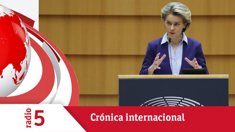 Crónica Internacional - Von der Leyen defiende su estrategia de vacunación en el Parlamento Europeo - Escuchar ahora