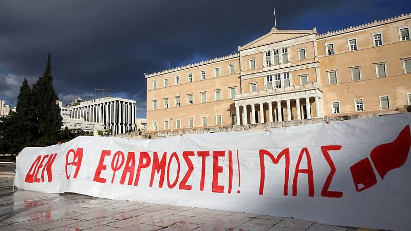 Cinco continentes - Grecia: la comunidad educativa contra la ley universitaria - Escuchar ahora