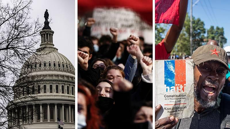 Cinco continentes - Fin de la emergencia nacional en EEUU - Escuchar ahora