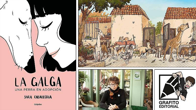¡Qué de cómics! - Cómics animalistas, Grafito Editorial y Chantal Montellier - Escuchar ahora