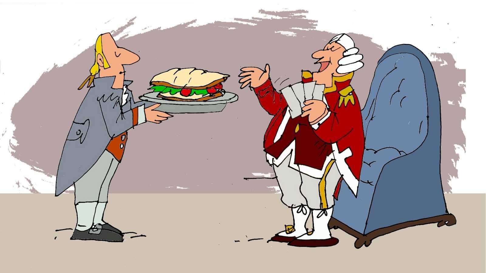 ¡Pero qué invento es esto! - El sándwich, la Gran Guerra y la carrera espacial - Escuchar ahora