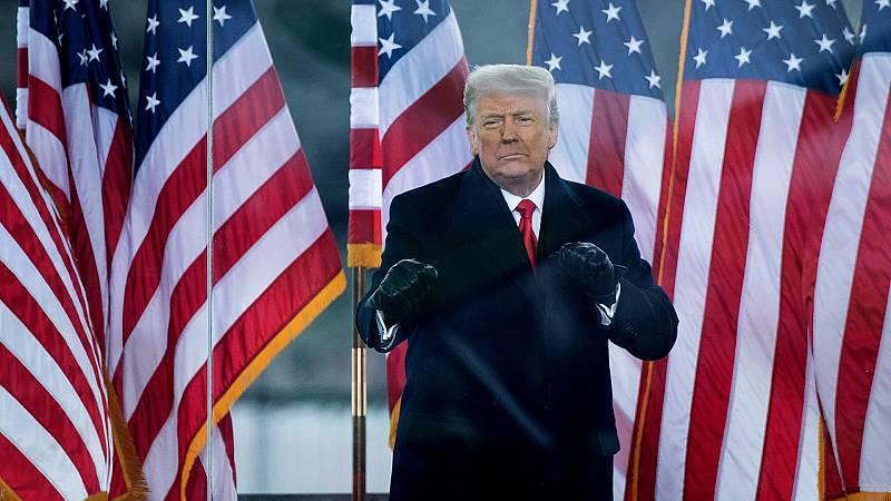 Boletines RNE - El Senado de EEUU absuelve a Trump en su segundo 'impeachment' - Escuchar ahora