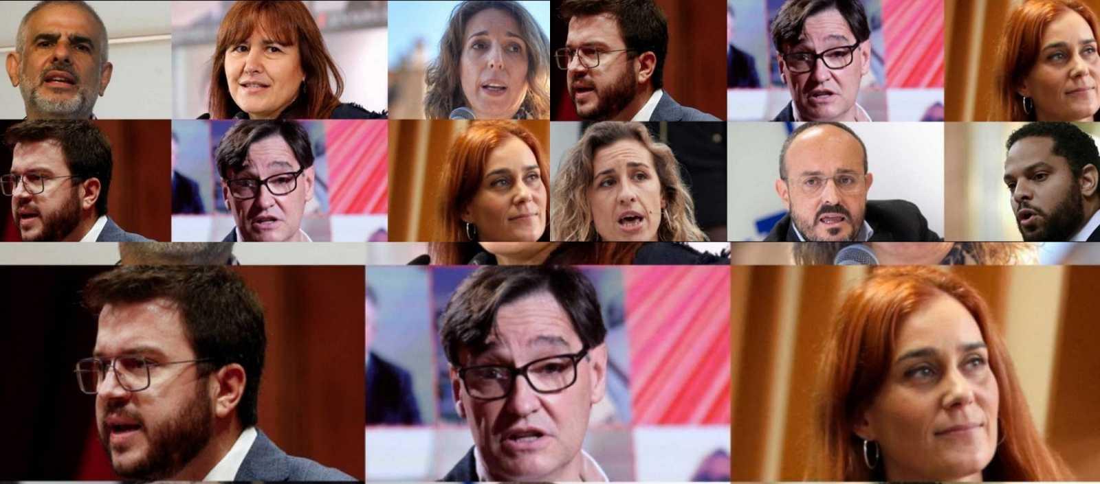 España a las 8 Fin de Semana - Cataluña. Candidatos - Escuchar ahora