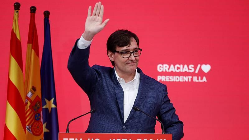 """Especiales RNE - Illa anuncia que se presentará a la investidura: """"El cambio es Cataluña es imparable"""" - Escuchar ahora"""