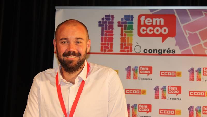 """Econòmix - Carlos del Barrio (CCOO): """"La futura llei dels 'riders' inclourà d'altres activitats"""""""