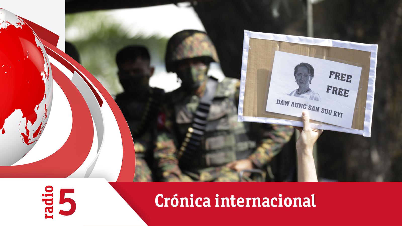 Crónica Internacional - Los tanques en las calles no impiden las protestas en Birmania - Escuchar ahora