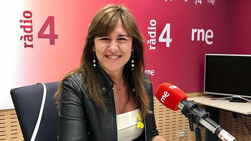 """Las mañanas de RNE - Borràs (Junts): """"Cataluña es más independentista que nunca pero la gente nos pide que nos pongamos de acuerdo"""" - Escuchar ahora"""
