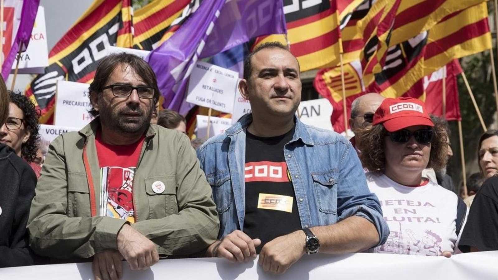 Els sindicats reclamen la formació d'un Govern el més aviat possible