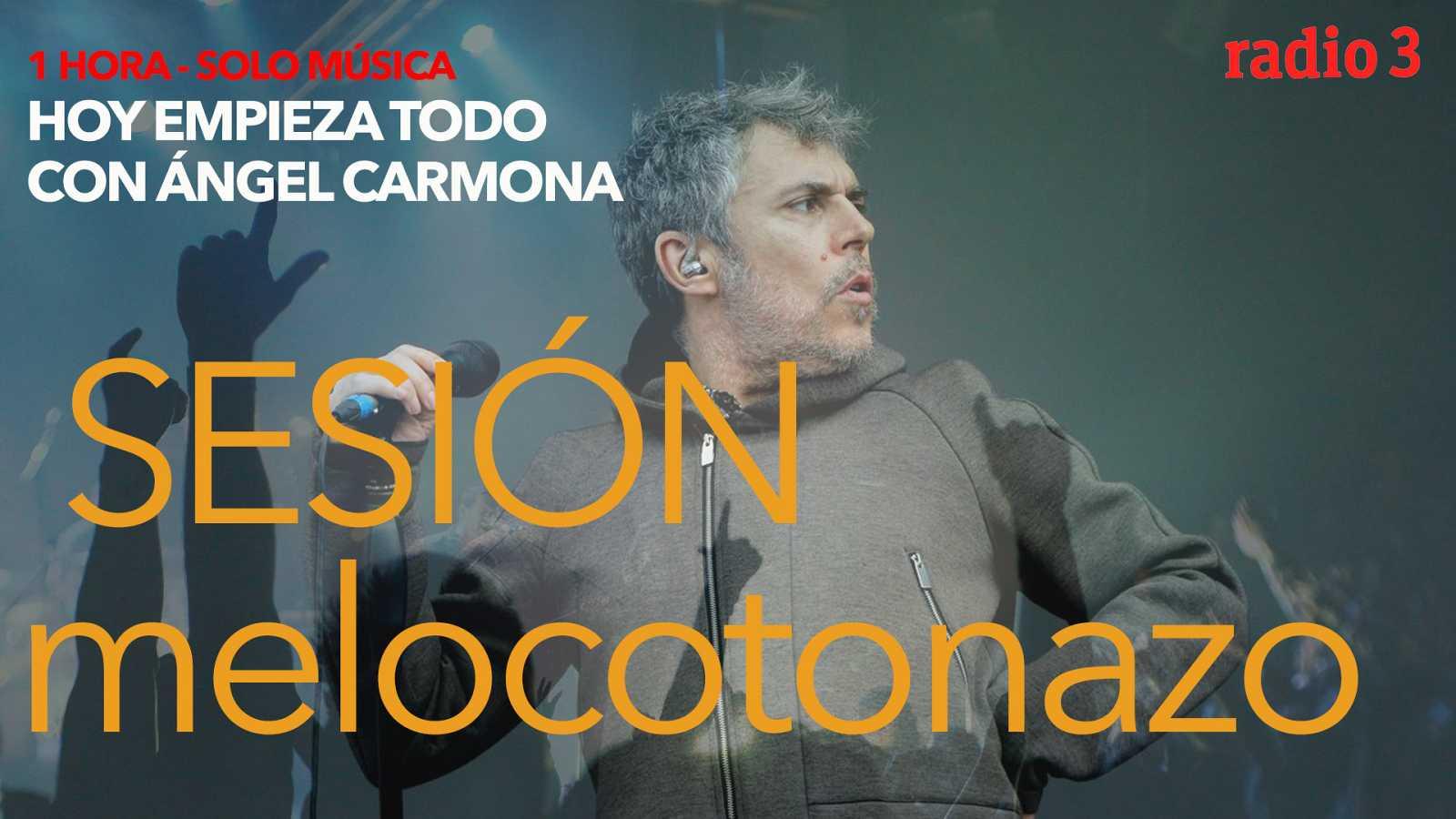 "Hoy empieza todo con Ángel Carmona - ""#SesiónMelocotonazo"": Haim, Iván Ferreiro, MGMT... - 16/02/21 - escuchar ahora"