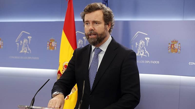 """Las mañanas de RNE con Íñigo Alfonso - Espinosa de los Monteros (VOX): """"No hay ninguna diferencia entre ERC y el PSC; se acabarán poniendo de acuerdo"""" - Escuchar ahora"""