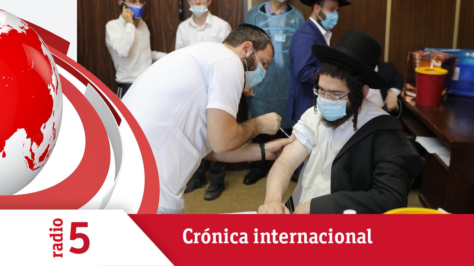 Crónica Internacional - Los vacunados tendrán más derechos en Israel - Escuchar