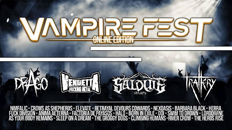El Vuelo del Fénix - Previa Vampire Fest - 16/02/21 - escuchar ahora