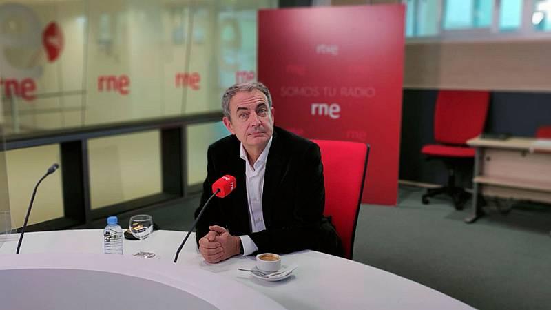 """Las mañanas de RNE con Íñigo Alfonso - Zapatero, sobre las declaraciones de Iglesias respecto a la calidad de la democracia en España: """"No me parece mal el debate"""" - Escuchar ahora"""