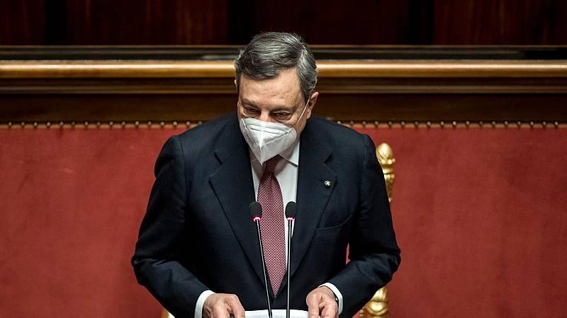 14 horas - Draghi presenta en el Senado sus planes de gobierno para Italia - Escuchar ahora