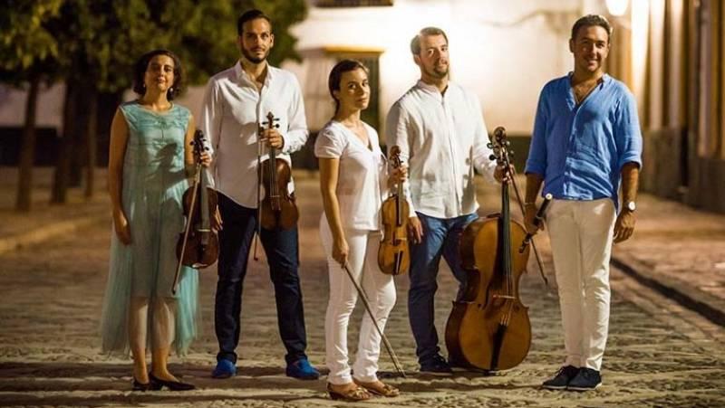 Cuarteto Goya 'Quintetos con flauta de Boccherini' - escuchar ahora