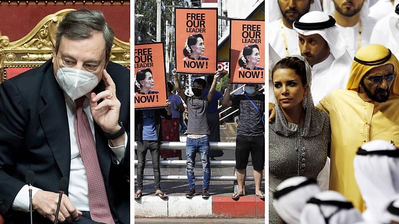 Cinco continentes - El llamamiento a la unidad de Draghi - Escuchar ahora