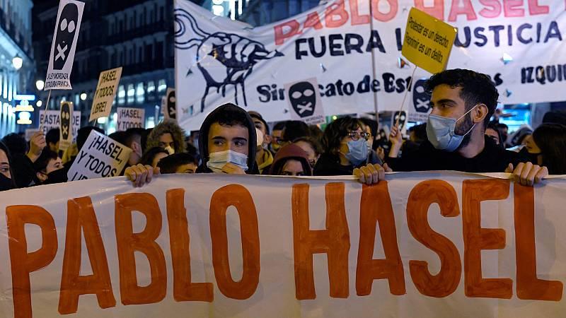 24 horas - Incidentes en las protestas que piden la libertad de Pablo Hasel - Escuchar ahora