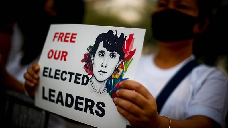 Cinco continentes - Munición real contra los manifestantes en Myanmar - Escuchar ahora