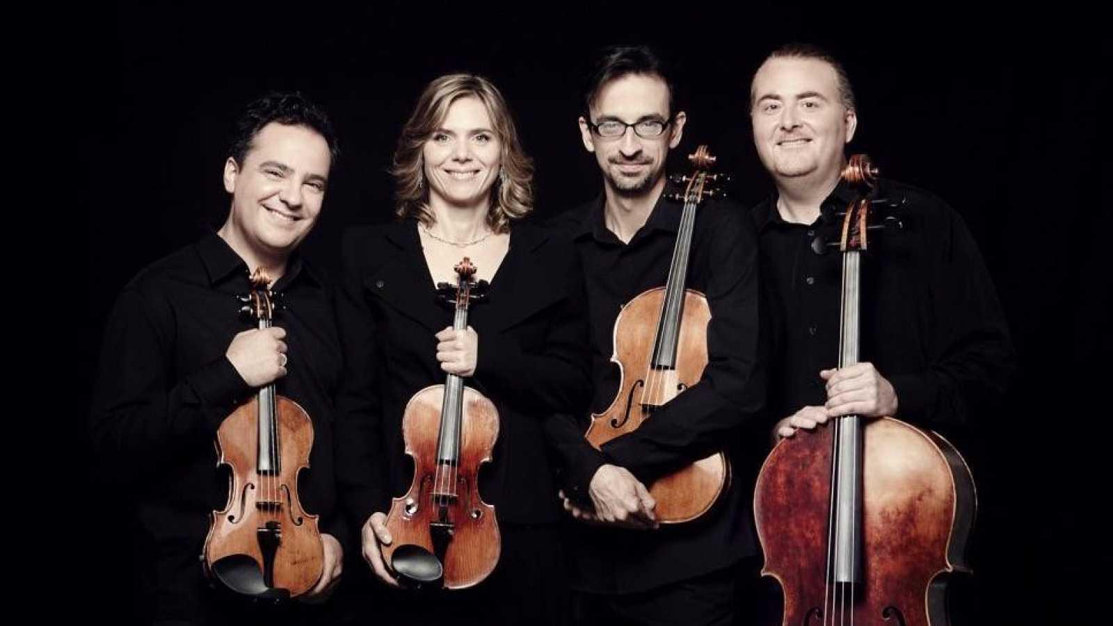 Fila cero - Fundación Juan March: Proyecto Conrado: integral de sus cuartetos (I) - 17/02/21 - escuchar ahora