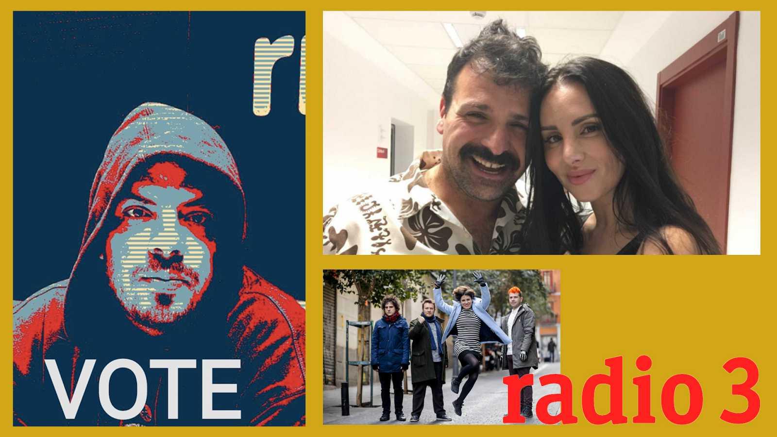 Hoy empieza todo con Ángel Carmona - Foyone, La Mala Rodríguez y Triángulo de Amor Bizarro - 18/02/21 - escuchar ahora