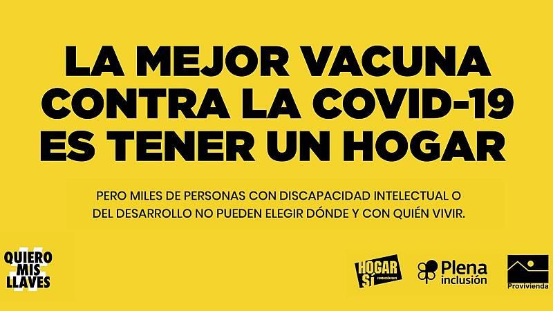 Más cerca - #QuieroMisLlaves: por el derecho a una vivienda, sin excepción - Escuchar ahora