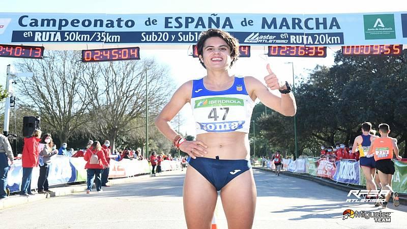Más áltas, más rápidas, más fuertes - María Pérez, 35Km marcha - 18/02/21 - Escuchar ahora