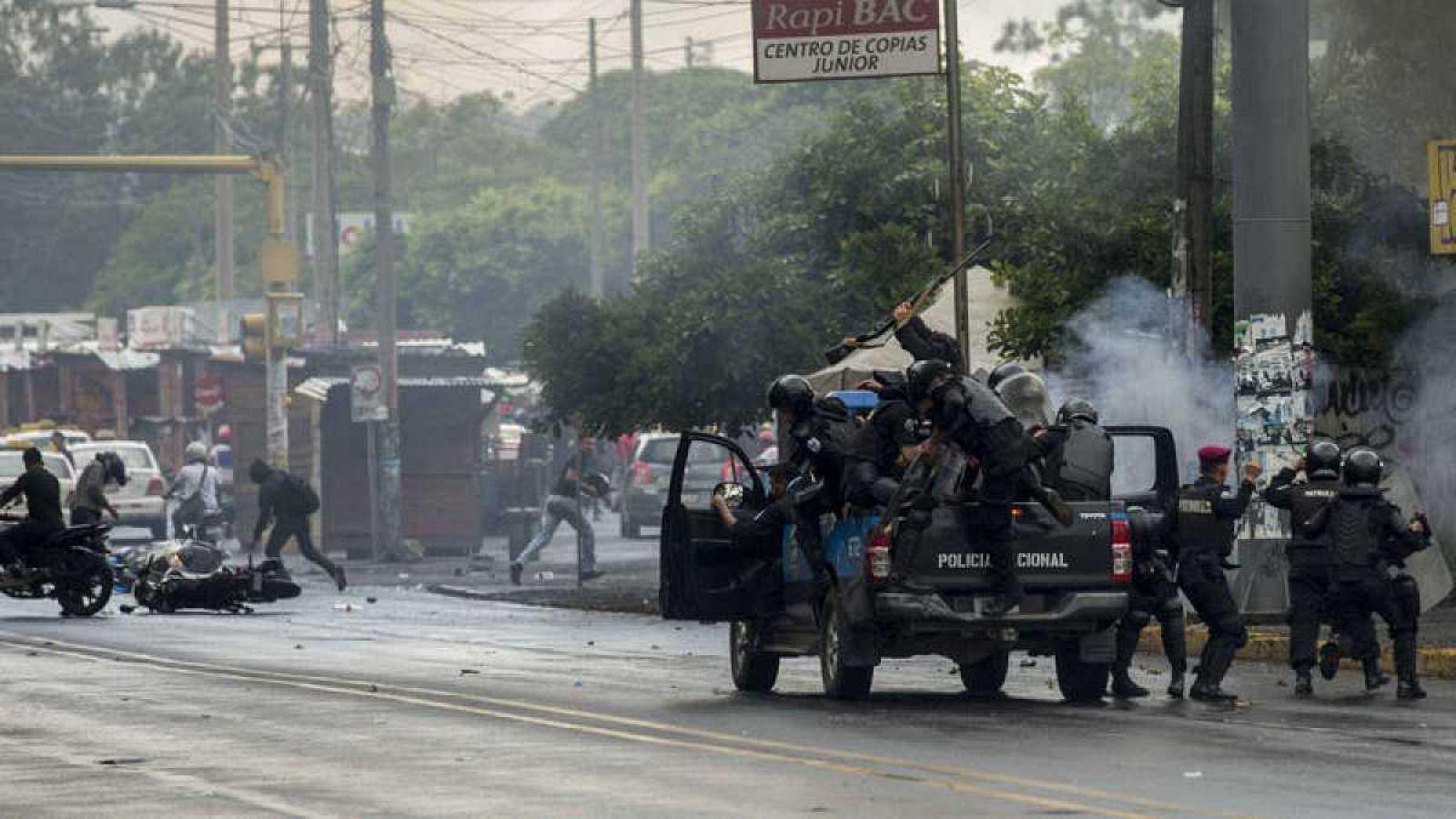 Hora América - Aumenta la represión en Nicaragua, según el último informe de Amnistía Internacional - 18/02/21 - escuchar ahora
