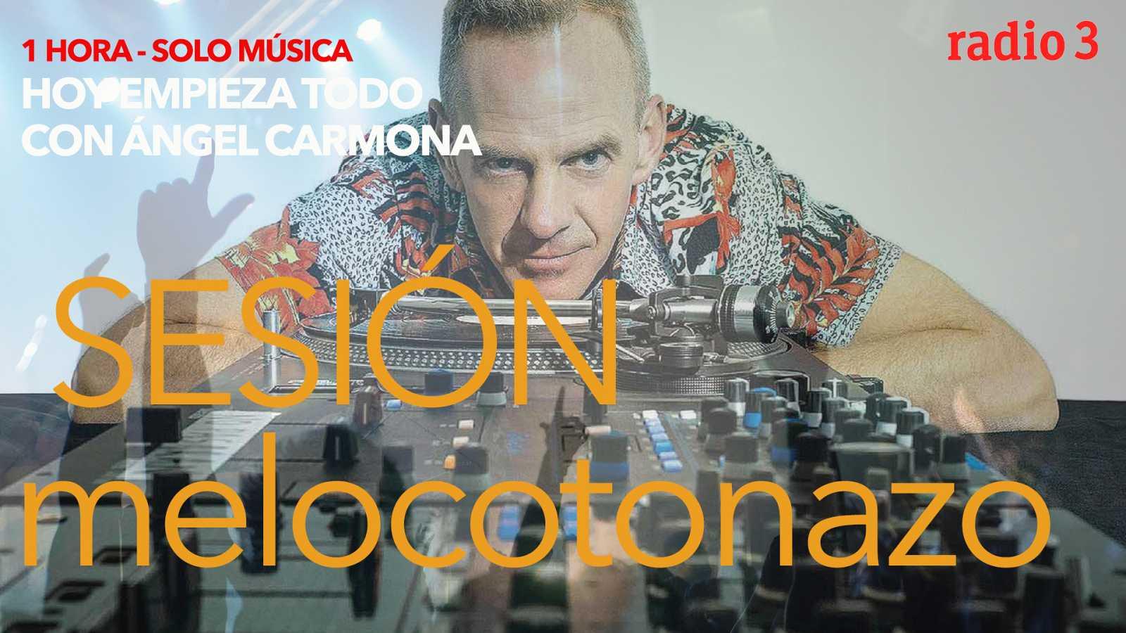 "Hoy empieza todo con Ángel Carmona - ""#SesiónMelocotonazo"": AC/DC, Fatlboy Slim, The Weeknd... - 19/02/21 - escuchar ahora"