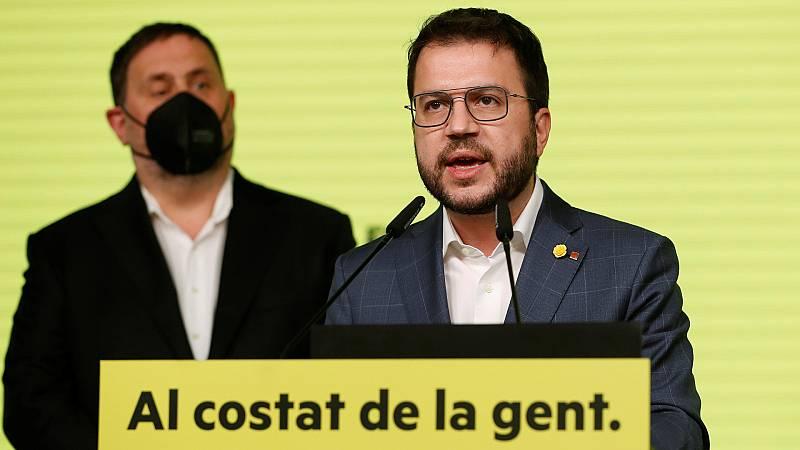 24 horas - Esquerra priorizará un gobierno independentista con Junts, la CUP y los comunes - Escuchar ahora