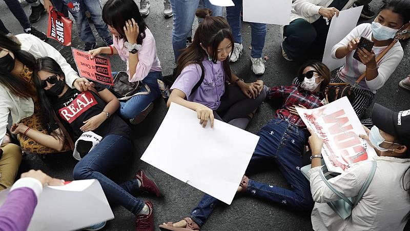 14 Horas Fin de Semana - Se recrudece la violencia en Birmania - Escuchar ahora