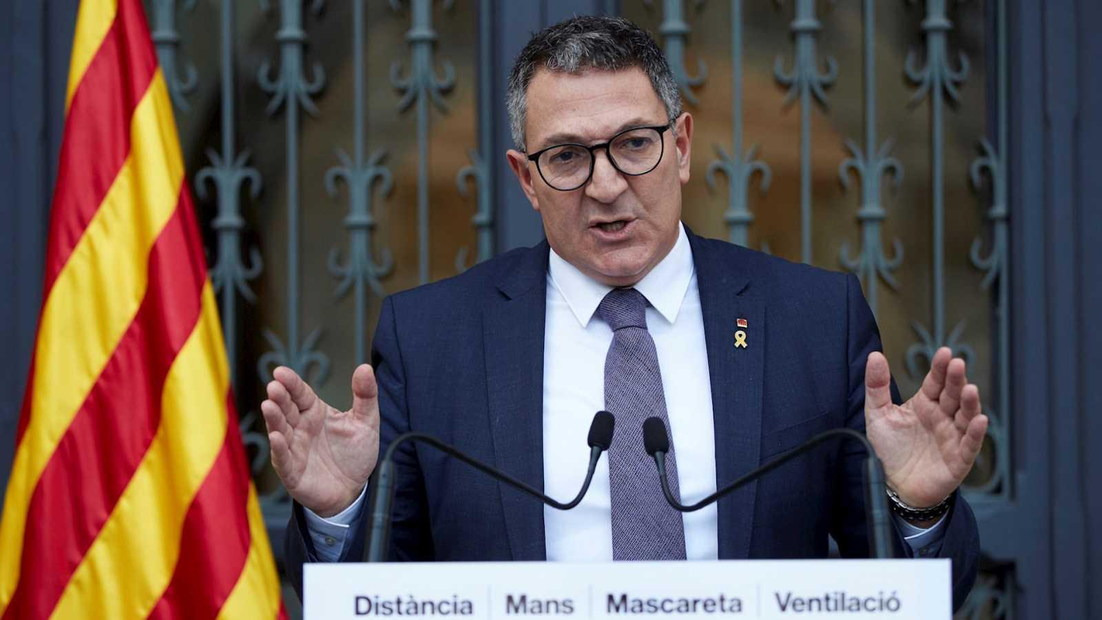 14 horas Fin de Semana - El consejero catalán de Interior reconoce la presencia de violencia extrema durante las movilizaciones - Escuchar ahora