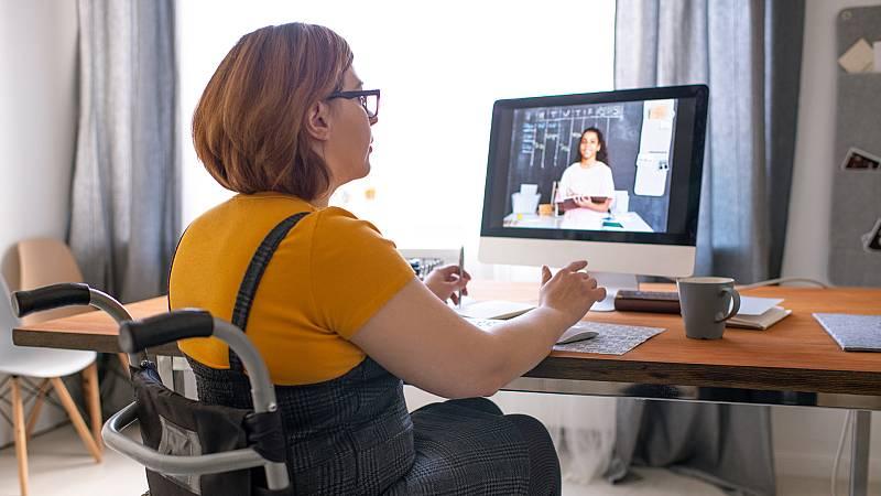 Punto de enlace - El teletrabajo, un reto para mujeres discapacitadas - 22/02/21 - Escuchar ahora
