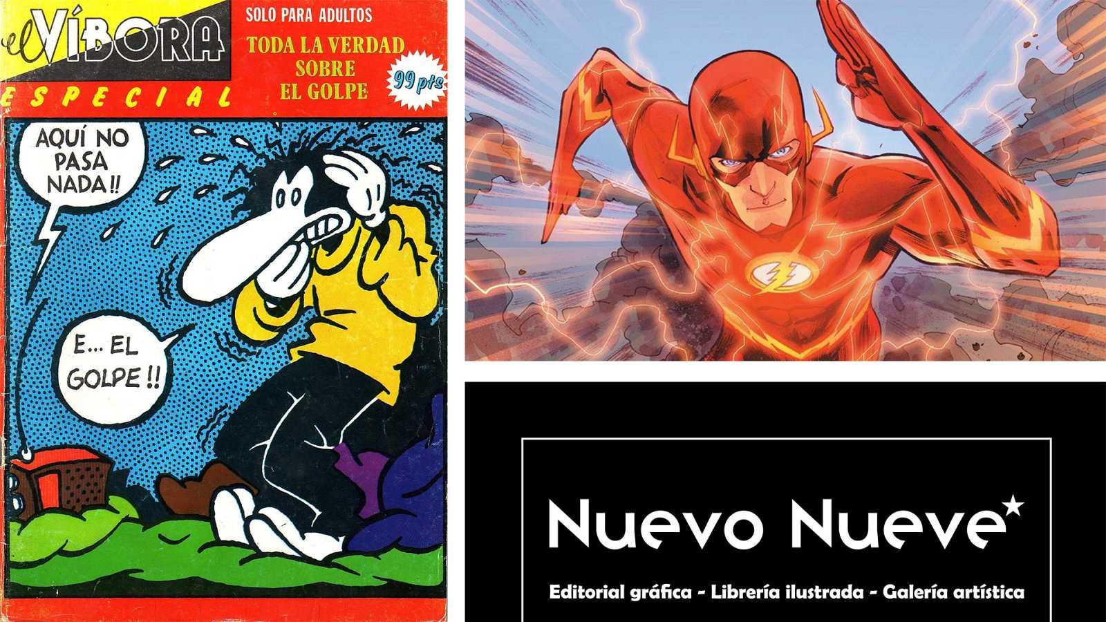¡Qué de cómics! - 40 años del 23F en viñetas, Flash y Nuevo Nueve - Escuchar ahora