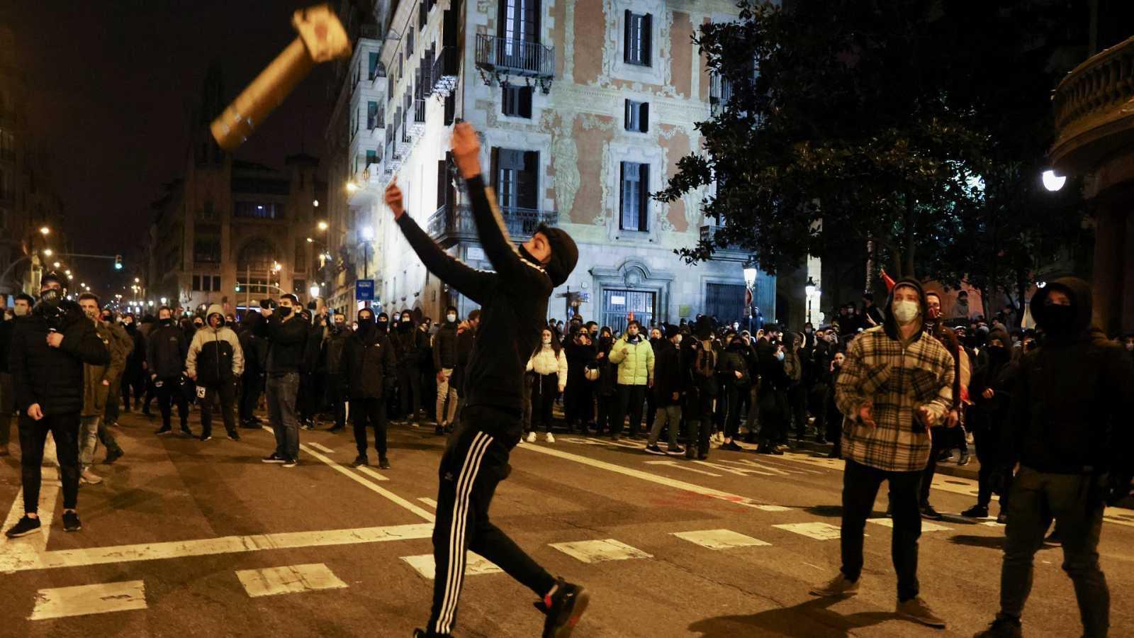 Edició Migdia - Declaren 29 dels 109 detinguts pels actes violents post-manifestacions en favor de Pablo Hasel