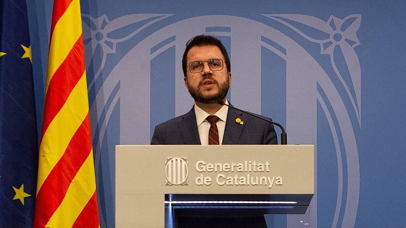 24 horas - Aragonès defiende la actuación de los Mossos y pide no criminalizar las protestas - Escuchar ahora