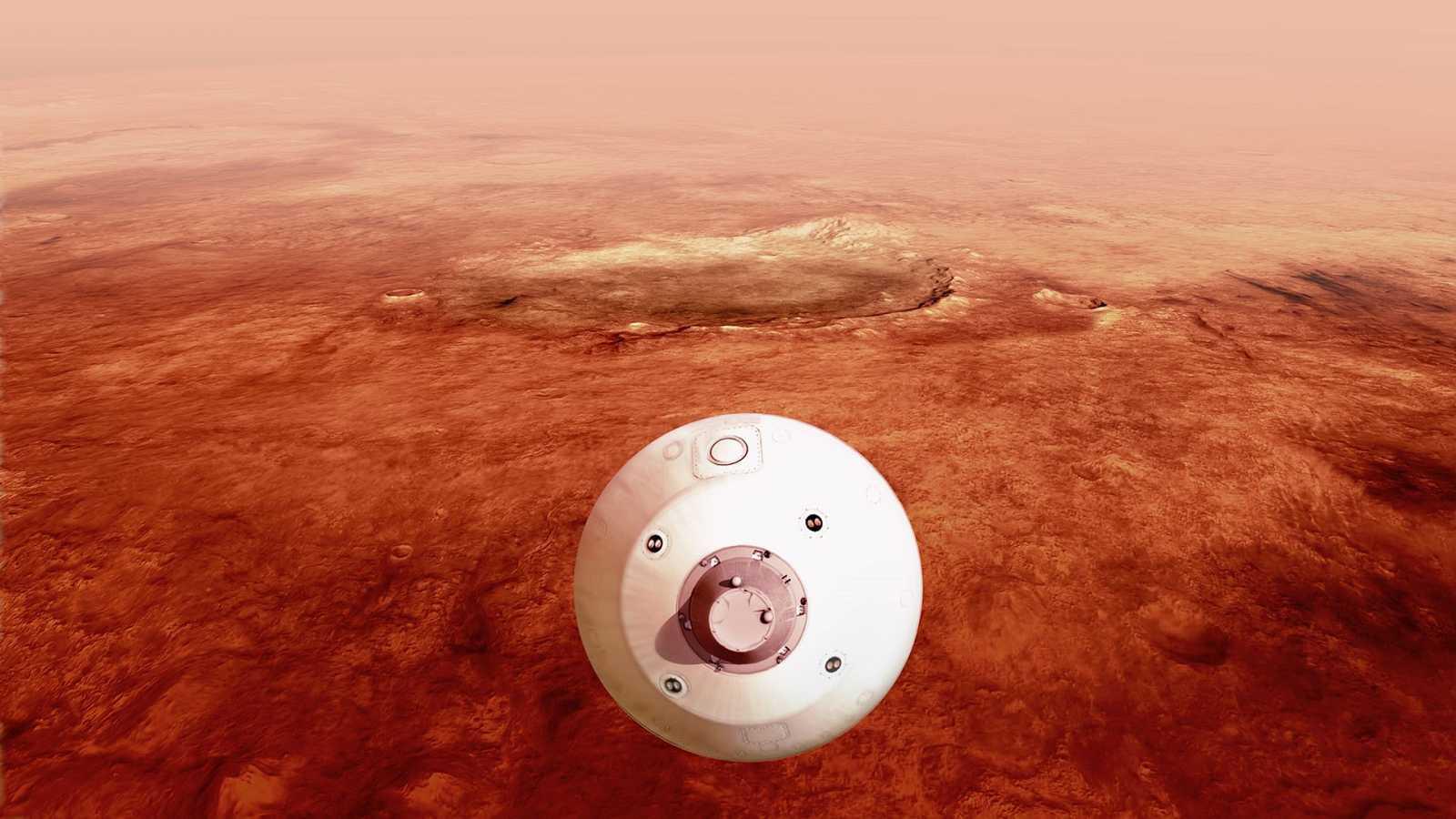 Españoles en la mar - El inmenso océano que hubo en Marte - 22/02/21 - escuchar ahora