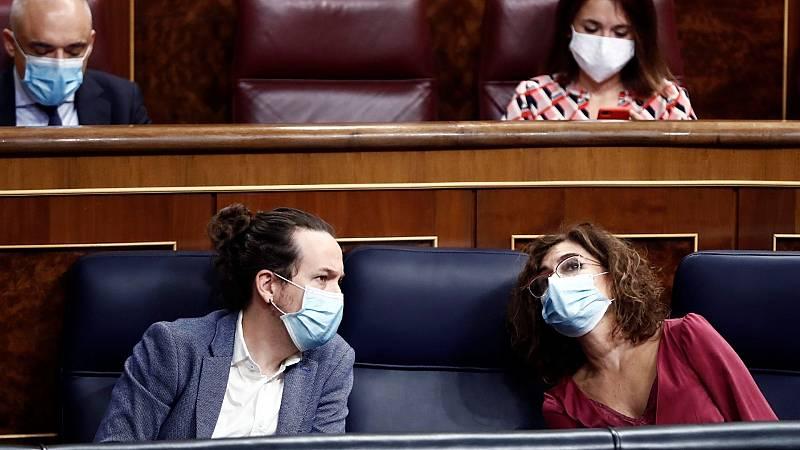 """14 horas - Iglesias advierte que no regular el alquiler """"tensiona"""" la coalición y Montero responde que no incumplirán lo pactado - Escuchar ahora"""