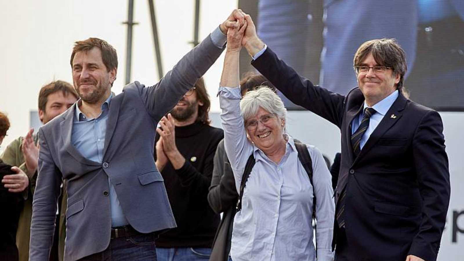 24 horas - La Comisión del Parlamento Europeo recomienda levantar la inmunidad a Puigdemont - Escuchar ahora