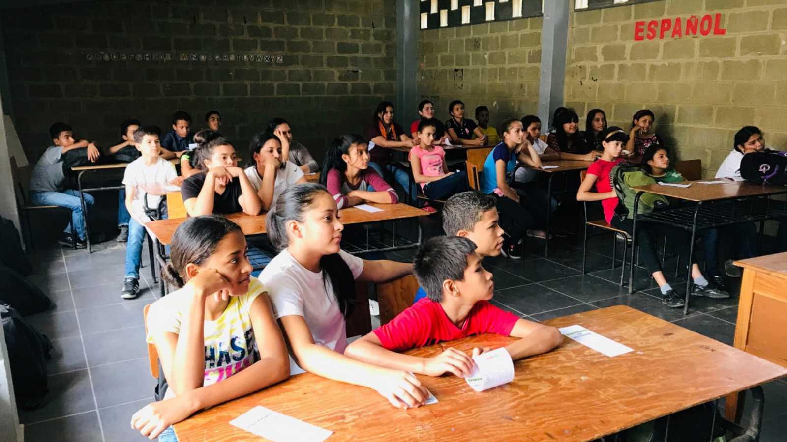 Educar para la paz - Educación en Honduras con la Fundación Verón - 24/02/21 - Escuchar ahora