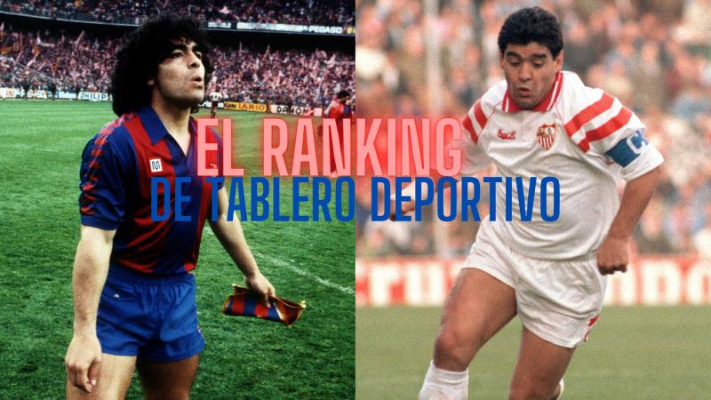 Tablero Deportivo - Ránking: jugadores que vistieron la camiseta de Sevilla y Barça - Escuchar ahora