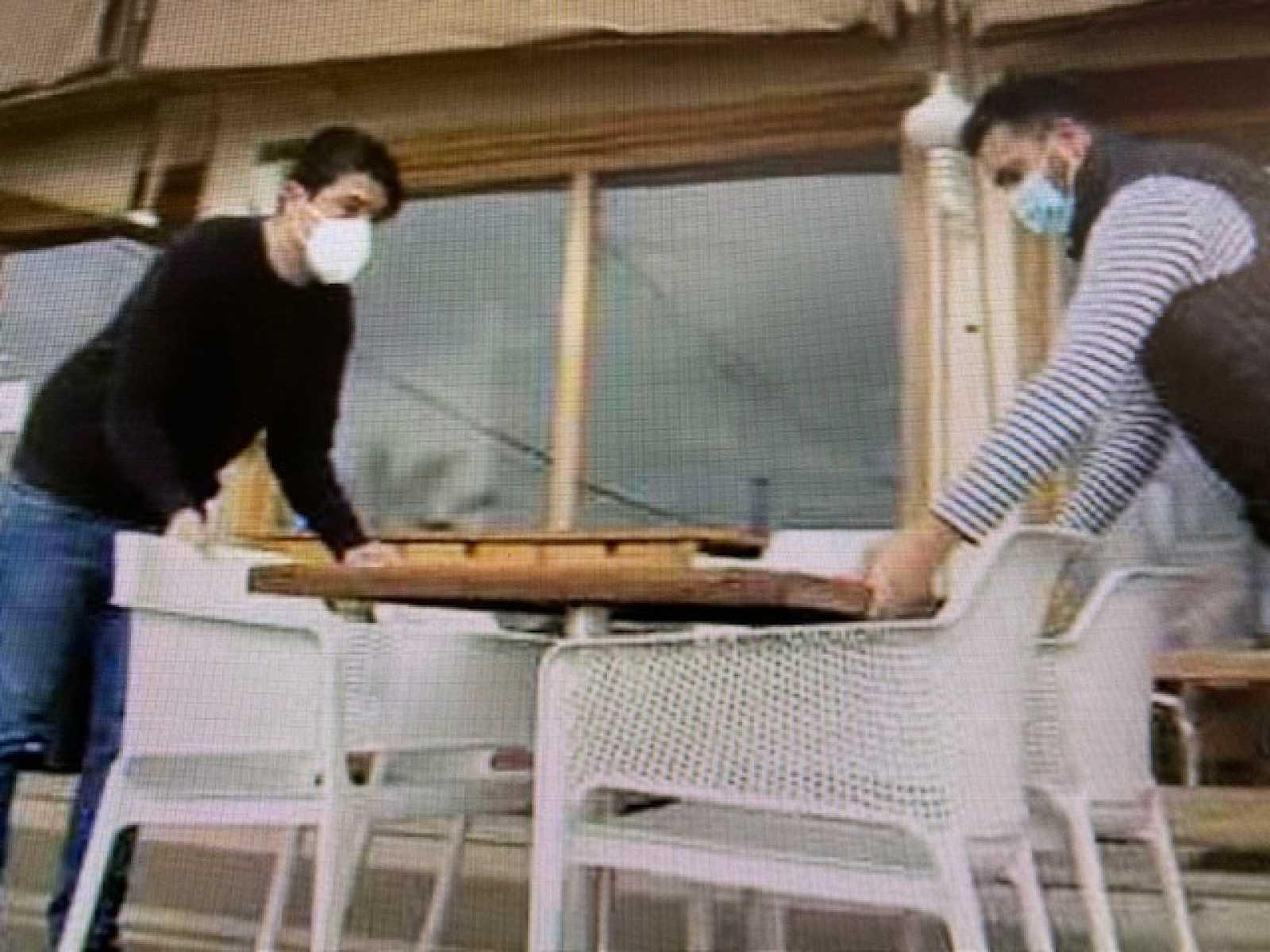 Los hosteleros se preparan para reabrir terrazas - 25/02/21